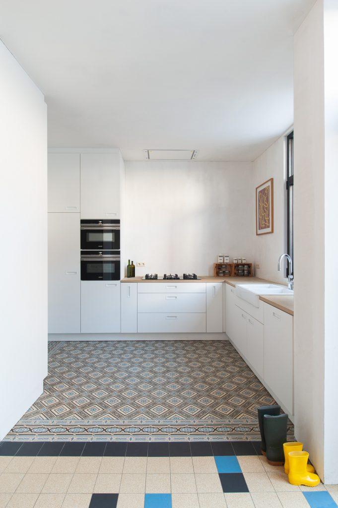 Renovatie, Keuken – Jette
